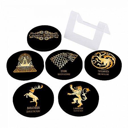 Porta Copos Em MDF Game of Thrones
