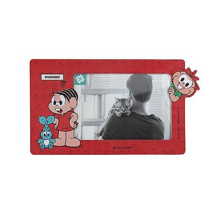 Porta Retrato Formato 10x15 Turma da Monica