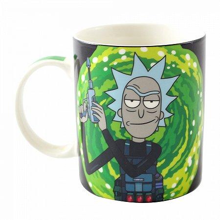 Caneca Magic 300ml Rick and Morty