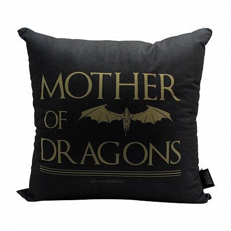 Almofada GOT 40x40cm - Mother of Dragons Veludo