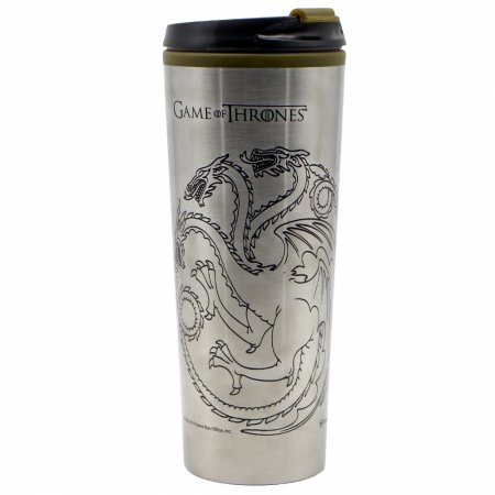 Copo Viagem Game of Thrones casas metal 450ml