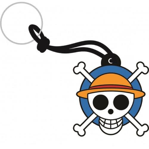 Chaveiro emborrachado One Piece