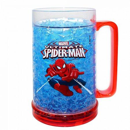 Caneca Gelo Spider Man 400ml