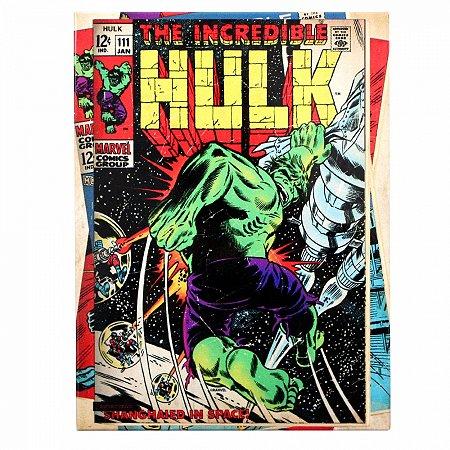 Quadro metal Hulk HQ 26X19CM