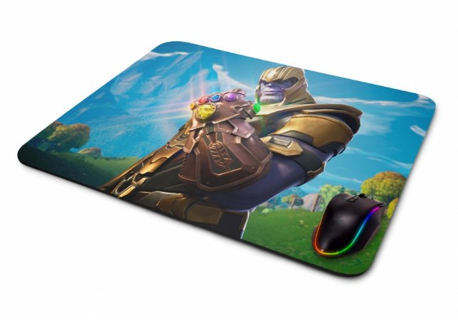 Mousepad Gamer Fortnite Battle Royale Thanos