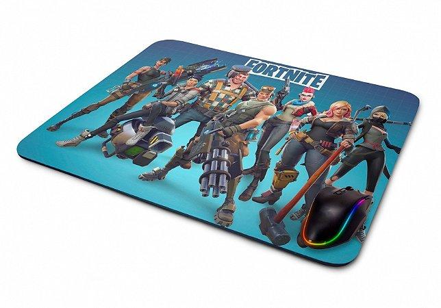 Mouse pad Gamer Fortnite Personagens I