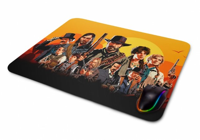 Mousepad Gamer Red Dead Redemption MOD3