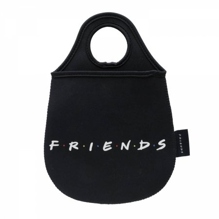 Lixeira de Carro Friends preto