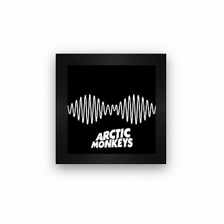Quadro azulejo com moldura Arctic Monkeys Am