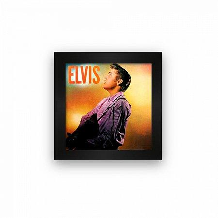 Quadro azulejo com moldura Elvis Presley 1956