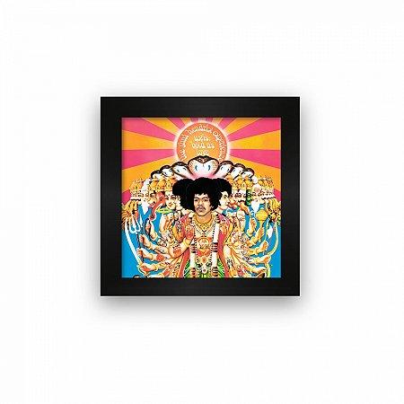 Quadro azulejo com moldura Jimi Hendrix Experience