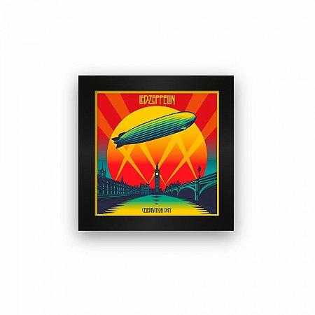 Quadro azulejo com moldura Led Zeppelin Celebration Day