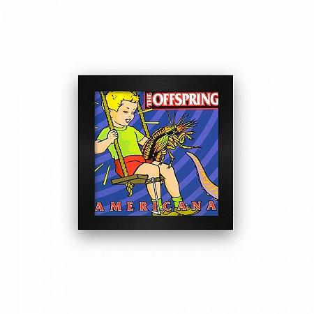 Quadro azulejo com moldura Offspring Americana