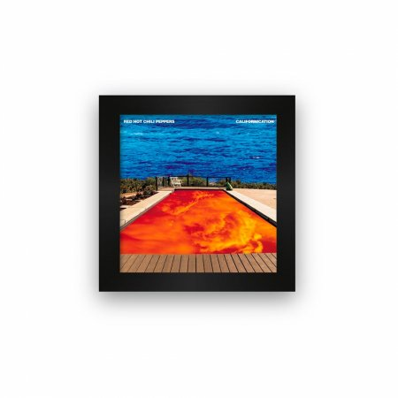 Quadro azulejo com moldura Red Hot Chili Peppers