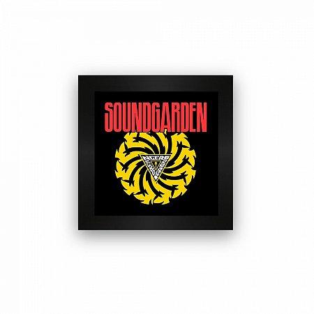 Quadro azulejo com moldura Soundgarden Badmotorfinger