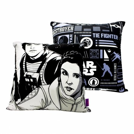 Almofada Star Wars 40x40cm - Rebels Veludo