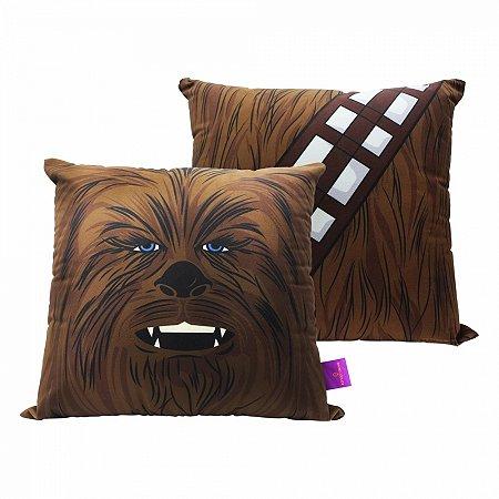 Almofada Star Wars 40x40cm - Chewbacca Veludo