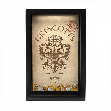 Cofre Madeira Harry Potter Gringotts 17x 26,5 cm
