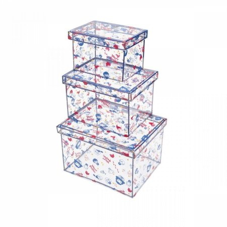 Kit 3 Caixas Organizadoras Harry Potter