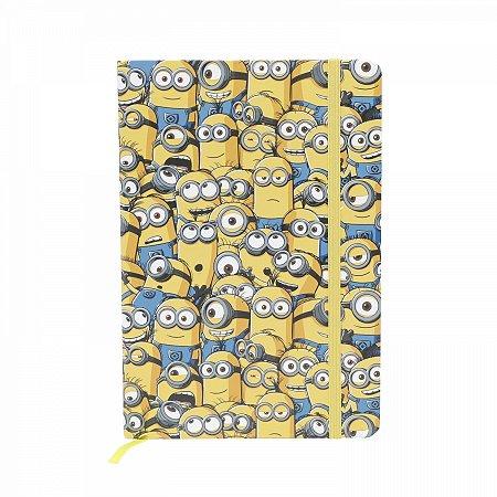 Caderneta de Anotação Minions A5 14,8 X 21 CM 96FLS