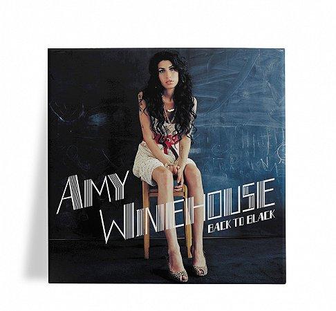 Azulejo Decorativo Amy Winehouse Back to Black 15x15