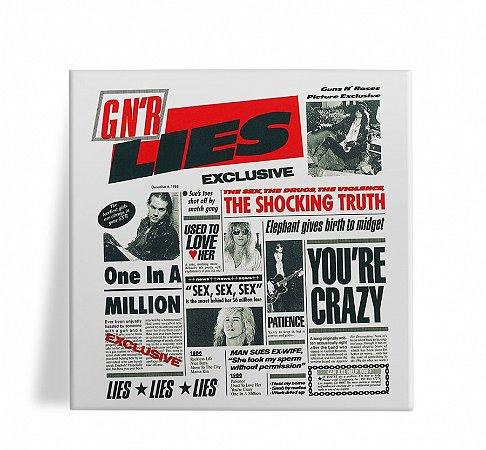 Azulejo Decorativo Guns N Roses Lies 15x15