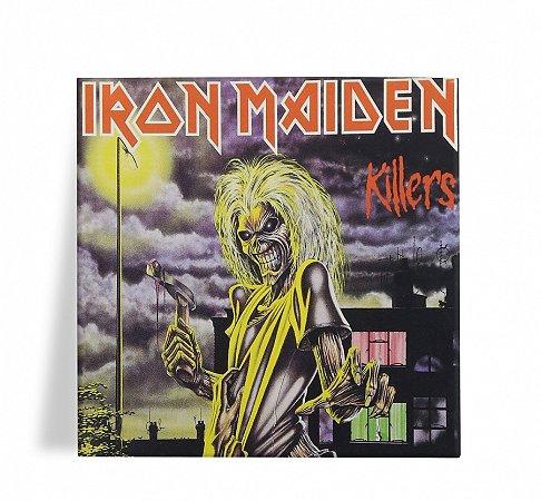 Azulejo Decorativo Iron Maiden Killers 15x15