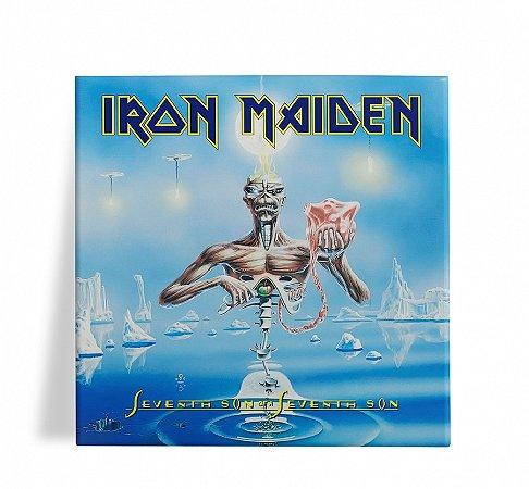 Azulejo Decorativo Iron Maiden Seventh Son 15x15