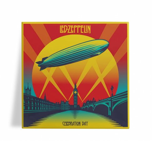 Azulejo Decorativo Led Zeppelin Celebration Day 15x15