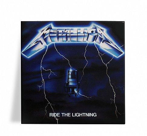 Azulejo Decorativo Metallica Ride the Lightning 15x15
