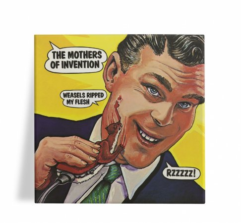 Azulejo Decorativo The Mothers of Invention Weasels 15x15