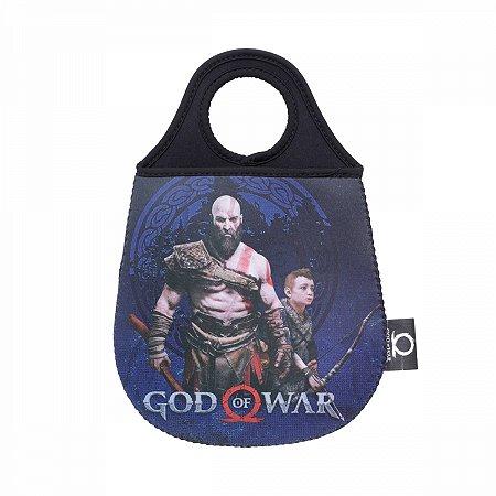 Lixeira de Carro God of War Kratos e Atreus
