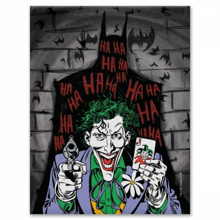 Placa Parede Metal Coringa DC Comics