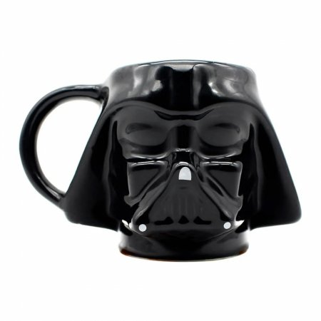 Caneca Star Wars formato 3D Darth Vader 500ml