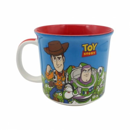 Caneca Toy Story Wooddy Buzz ETs 350ml