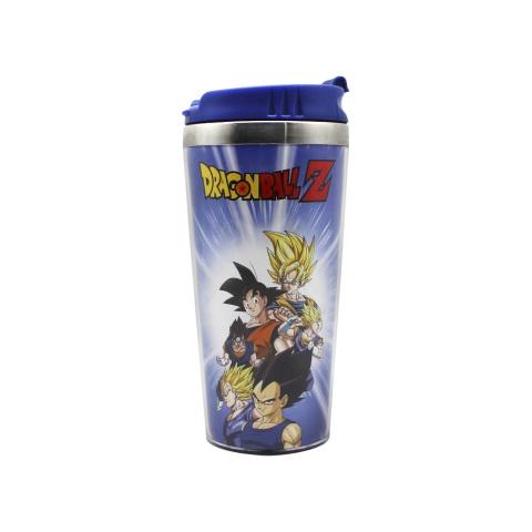 Copo Viagem Dragon Ball Z com tampa 450ml