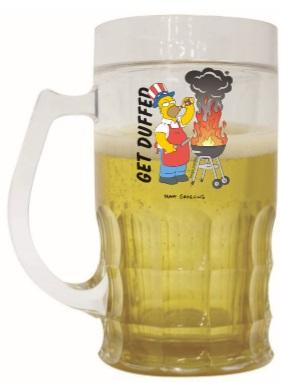 Caneca Chopp Simpsons Homer Churrasco 500ML