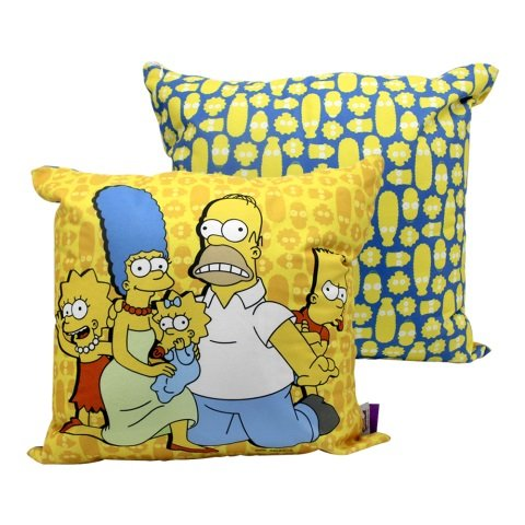Almofada Simpsons Família 40x40cm Veludo