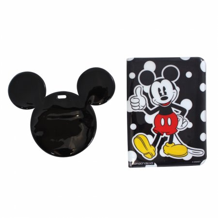 Kit Viagem Tag e Passaporte Michey Mouse