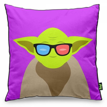 Almofada Geek Side - Mestre Yoda