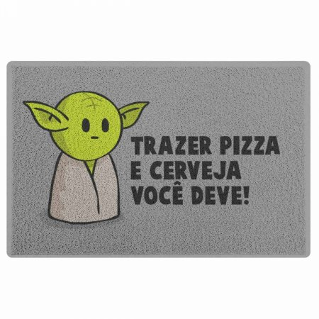 Capacho Star Wars Mestre Mini-Yoda - 60 x 40
