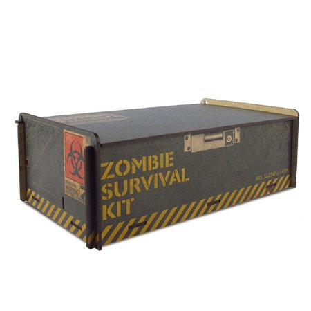 Baú Zombie Survival MDF