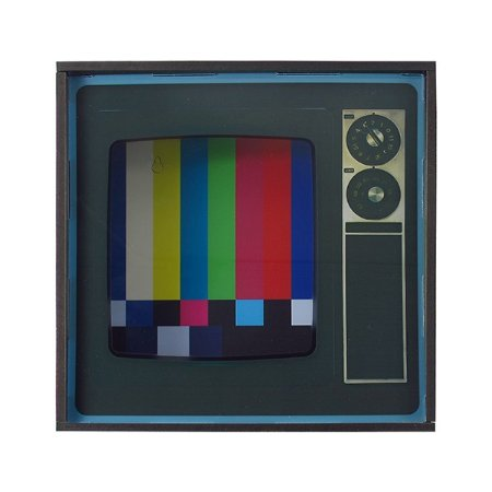 Quadro Interativo TV Vintage