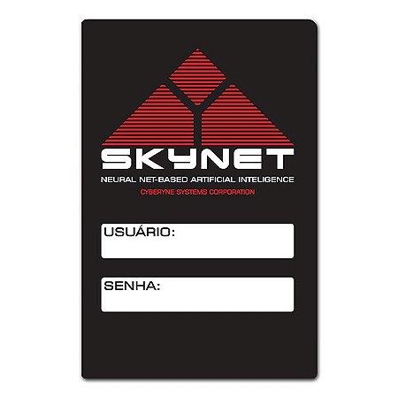 Placa Placa Wifi Skynet - 25 x 16 cm