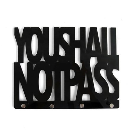 Porta Chaves You Shall Not Pass