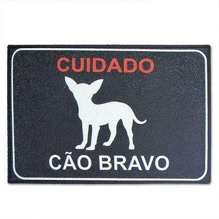 Capacho Cão Bravo - 60 x 40