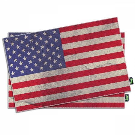 Jogo Americano Bandeira Estados Unidos - 2 peças