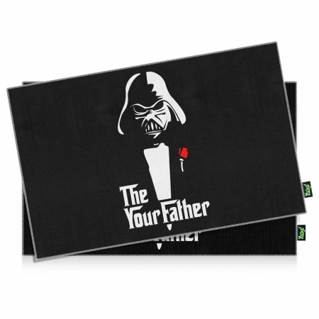 Jogo Americano Star Wars You Father - 2 peças