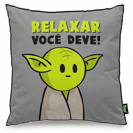 Almofada Mestre Mini Yoda