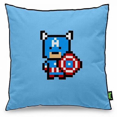 Almofada Capitão América Pixel